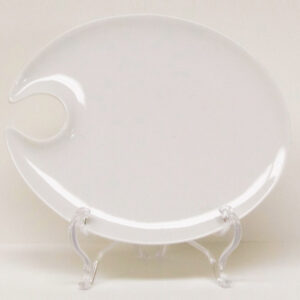 """Cocktail Plate (Oval 8""""x6.5"""")"""