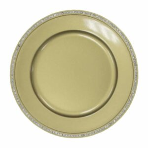Charger plate bling- GOLD