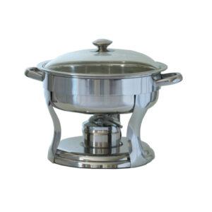 Chafing Dish (round 4.7 liters)