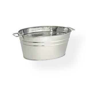 Galvanized tub 18'' Oval