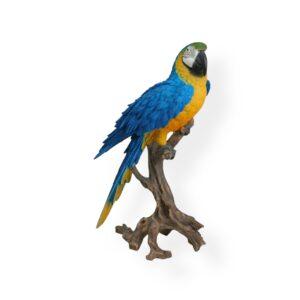 Artificial Parrot Statue - BLUE