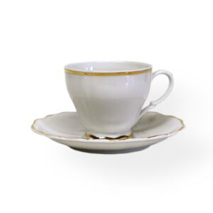 Coffee cup (8 oz) Gold BELLCREST