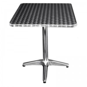 """Square Table (27""""x27"""") Stainless"""