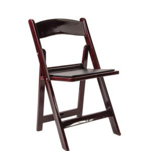 Folding Martha Chair - MAHOGANY